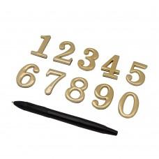 Цифра, цвет: G Золото