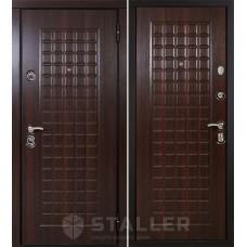 Входная дверь Сталлер Токио Орех темный