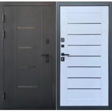 Входная дверь Дверной континент Эльбрус Царга Белое дерево