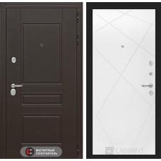 Входная дверь Лабиринт Мегаполис 24 - Белый софт