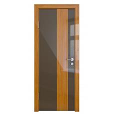 Модерн, цвет: DO-504 (Шоколад глянец, стекло бамбук)