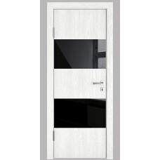 Модерн, цвет: DO-508 (Белый глубокий, стекло черное)
