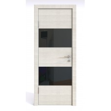 Модерн, цвет: DO-508 (Ива светлая, стекло черное)