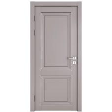 Классические двери, цвет: DG-DEKANTO (Серый бархат, глухая)