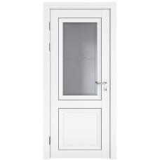 Классические двери, цвет: DO-DEKANTO (Белый бархат, стекло)