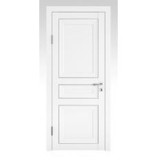 Классические двери, цвет: DG-PG-3 (Белый бархат, глухая)