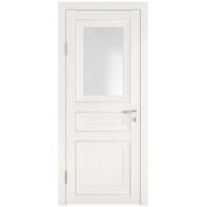 Классические двери, цвет: DO-PG-4 (Белый ясень, стекло ромб)