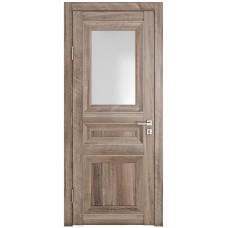 Классические двери, цвет: DO-PG-4 (Орех седой светлый, стекло ромб)