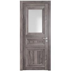 Классические двери, цвет: DO-PG-4 (Орех седой темный, стекло ромб)