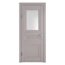 Классические двери, цвет: DO-PG-4 (Серый бархат, стекло ромб)