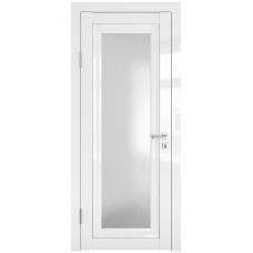 Классические двери, цвет: DO-PG-6 (Белый глянец, стекло ромб)