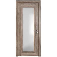 Классические двери, цвет: DO-PG-6 (Орех седой светлый, стекло ромб)