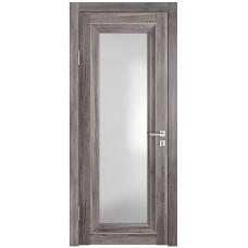 Классические двери, цвет: DO-PG-6 (Орех седой темный, стекло ромб)