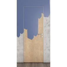 Скрытые двери, цвет: DG-500 (под покраску 36 мм, глухая)
