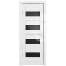 Трис, цвет: DO-TRIS (Белый глянец, стекло черное)