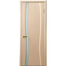 Шпон, цвет: Клеопатра 1 (беленый дуб стекло белое)
