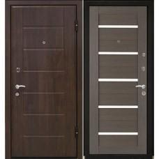 Входная металлическая дверь МеталЮр М7 (Венге / Грей мелинга)