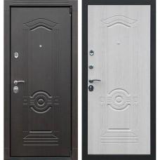 Входная стальная дверь АСД Гермес Беленый дуб