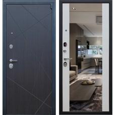 Входная стальная дверь АСД «Вектор» с Зеркалом