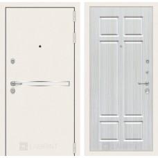 Входная дверь Лабиринт Лайн WHITE 08 - Кристалл вуд