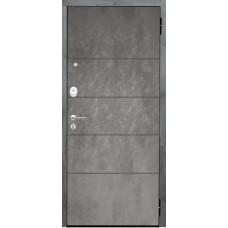 Входная дверь Аргус Люкс 3К 2П Агат (темный бетон)