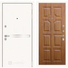 Входная дверь Лабиринт Лайн WHITE 17 - Золотой дуб