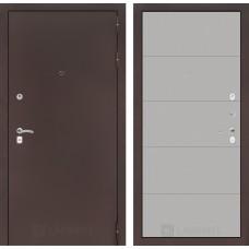 Входная дверь Лабиринт CLASSIC антик медный 13 - Грей soft