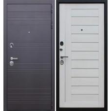 Входная стальная дверь АСД «Дуэт» Белая лиственница
