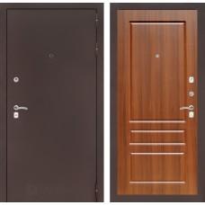 Входная дверь Лабиринт CLASSIC антик медный 03 - Орех бренди