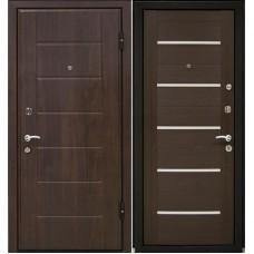 Входная металлическая дверь МеталЮр М7 (Венге / Венге мелинга)