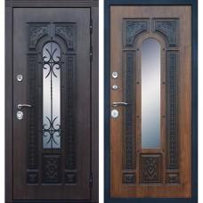 Входная стальная дверь АСД Русь Дуб золотой (заказная)