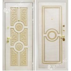 Входная металлическая дверь Сталлер Версаче (Белый)