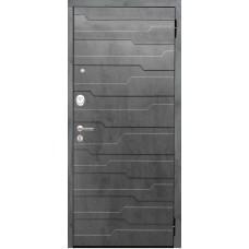Входная дверь Аргус Люкс АС 2П Техно (темный бетон)