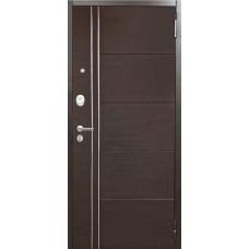 Входная дверь Аргус Люкс ПРО 2П Лофт (венге)