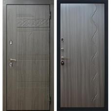 Входная стальная дверь АСД Виктория Сандал серый (заказная)