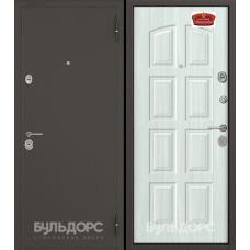Двери Бульдорс 24 (Букле шоколад/Дуб крем)