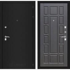 Входная дверь Лабиринт CLASSIC шагрень черная 12 - Венге