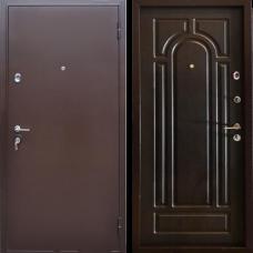 Двери Бульдорс NEW 14 Медь / Венге Б-6