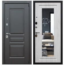 Входная стальная дверь АСД «Гермес NEW» с зеркалом ELIT