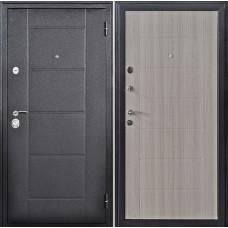 Входная дверь Дверной континент Квадро 2 Лиственница серая