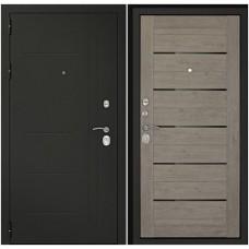 Входная дверь Дверной континент Сити-С3К Лиственница серая