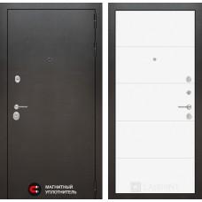 Входная дверь Лабиринт Сильвер 13 - Белый soft