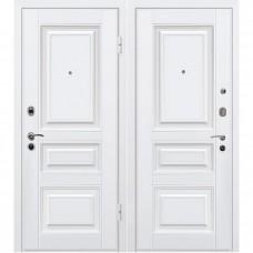 Входная металлическая дверь МеталЮр М11 (Белая)