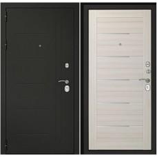 Входная дверь Дверной континент Сити-С3К Беленый дуб