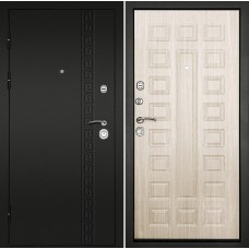 Входная дверь Дверной континент Сити-3К Беленый дуб