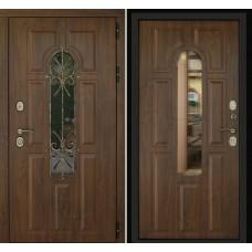 Входная дверь Дверной континент Лион Темный орех