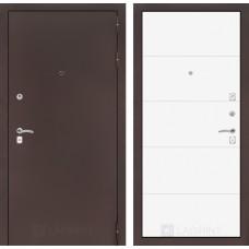 Входная дверь Лабиринт CLASSIC антик медный 13 - Белый soft