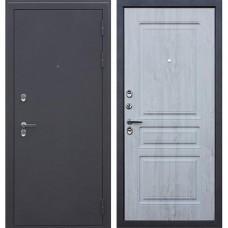 Входная дверь АСД Терморазрыв 3К «Сибирь» Сосна белая