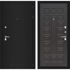 Входная дверь Лабиринт CLASSIC шагрень черная 04 - Венге