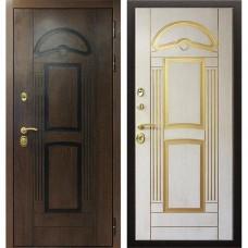 Входная стальная дверь АСД Аполлон Сандал белый (заказная)